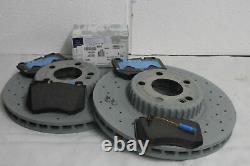 Véritable Mercedes-benz W213 Classe E Front & Rear Discs & Pads Kit Nouveau
