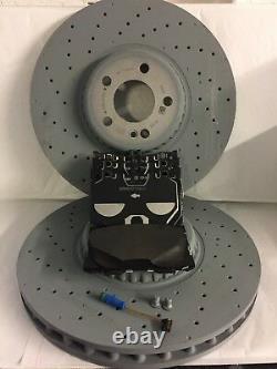 Véritable Mercedes-benz X253 Glc Amg Front Brake Discs & Pads Kit Nouveau