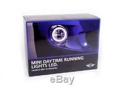 Véritable Mini L. E. D Feux De Jour Drl Kit R55 R56 R57 63122338554