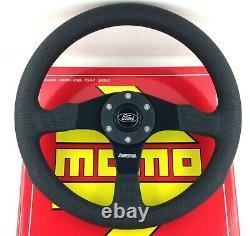Véritable Momo Competition Volant 350mm. Corne De Ford. Escort Fiesta Rs Etc