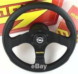 Véritable Momo Équipe Volant De 300 Mm, Kit De Bossage De Moyeu Corne Opel. Corsa Astra Etc