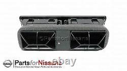 Véritable Nissan 1987-1992 Pathfinder Hardbody D21 Pickup Grey Ac Center Vent Kit