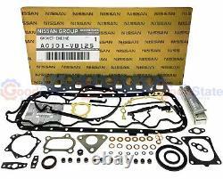 Véritable Nissan Patrol Gu Gq Rd28ti 2.8l Td Kit Complet De Réparation De Joint Moteur