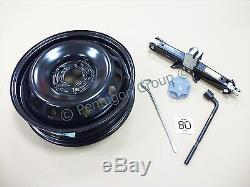 Véritable Nissan Qashqai J10 -2013 De Rechange Espace Roue Saver Kit Jack + Tool Kit