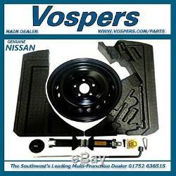 Véritable Nissan Qashqai J11 Et J11b Space Saver Roue De Secours, Kit De Fixation Entretoises