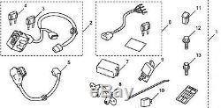 Véritable Oem Honda Pilot Kit Remorque Harnais 2012 2015 (p / N 08l91-sza-100a)
