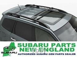 Véritable Oem Subaru 2009-2013 Forester Roof Rack Aero Cross Bars Kit E361ssc300