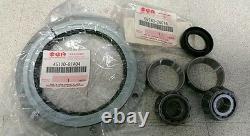 Véritable Suzuki Jimny Kingpin Swivel Hub Bearing & Shaft Seal Set Kit Steering