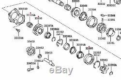 Véritable Toyota 5th Gear Kit De Réparation 3pc 41 Dents Convient Rav4 2.0 33336-42020