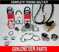 Véritable Toyota Oem 3.4 Litre 5vzfe V6 Complet 17 Pcs Courroie De Distribution Et Kit De Pompe