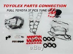 Véritable Toyota Oem Complète 37 Pcs Tune Up Tacoma Tundra Kit- T100 4runner V6 3.4