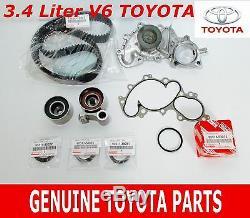 Véritable Toyota Tacoma 95-04 V6 3.4l 5vzfe Pompe À Eau Kit De Distribution 11 Pièces