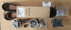 Véritable Volkswagen Audi Timing Belt Kit With Water Pump 03l198119f 03l121011p