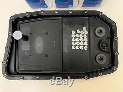 Véritable Zf Bmw 6 Vitesses 6hp26 6hp28 Boîte Automatique Filtre Carter Plat Kit D'huile 7l