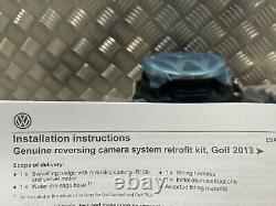 Volkswagen Golf R Gti Gtd Mk7 7.5 Rénovation De Caméra De Vue Arrière