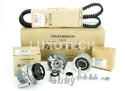 Vw Audi Genuine A3 Golf 1.6 2.0 Timing Belt Kit+water Pump Cambelt Seat Skoda