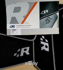 Vw Golf 4 R32 D'origine Fußmatten Vorne Hinten Veloursmatten Stoffmatten R-line