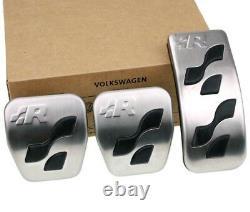 Vw Golf 4 R32 Original R-line Pedalset Pedale Pedalkappen Bouchons De Couverture De Pédale