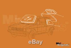Vw Golf Mk1 Lapin Gti Fenêtre Principale Kit Joint Oem