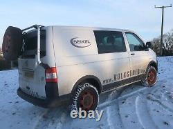 Vw Swamper Wheel Arch Kit Vw Transporter T5 Swb Véritable Vw Oem Livraison Gratuite