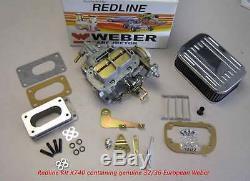 Weber Carb Kit Toyota Corolla Tercel 2tc 3a 4a 3tc K740 Véritable Weber Européenne
