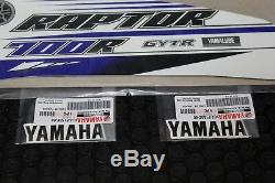Yamaha Raptor 700 Stickers Graphiques Kit Gytr Autocollants Yamaha Stock Oem Véritable # 2